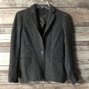 Massimo Dutti jacket  single button front size 6